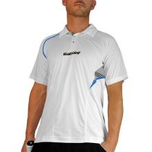 Babolat Tennis-Polo Performance #13 weiss Herren (Größe S)