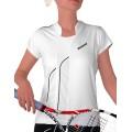 Babolat Shirt Club 2011 weiss Damen (Größe S)