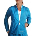 Babolat Jacket Club New blau Damen (Größe XS+S)