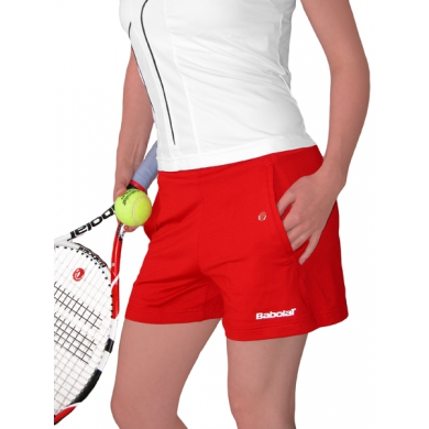 Babolat Short Club New rot Damen (Größe XL)