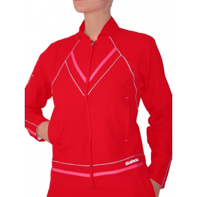 Babolat Trainingsjacke Tennis Performance #11 rot Damen