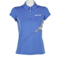 Babolat Tennis-Polo Performance #13 blau Damen