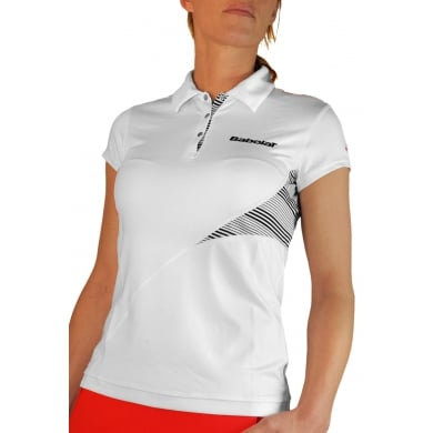Babolat Polo Performance 2013 weiss Damen