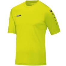JAKO Tshirt Trikot Team Kurzarm lime Boys