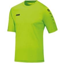 JAKO Tshirt Trikot Team Kurzarm neongrün Boys