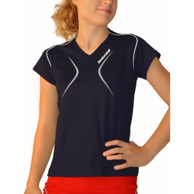 Babolat Shirt Club 2013 marineblau Girls