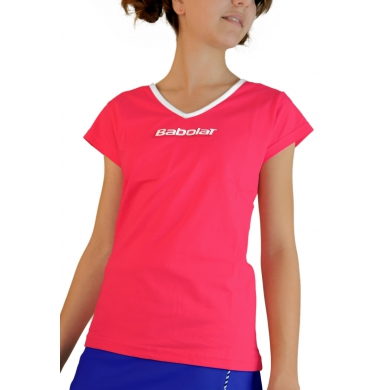 Babolat Shirt Training rosa Girls
