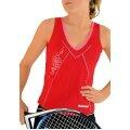 Babolat Tennis-Tank Performance #11 rot Mädchen