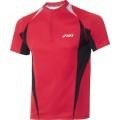 Asics L2 Half-Zip Shirt 2011 rot Herren (Größe XXL)