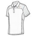 Nike Polo All Court weiss Herren (Größe S+XL)