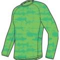 Nike Longsleeve Graphic Miler grün Herren (Größe L+XL)