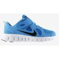 Nike Free 5.0 Klett hellblau Laufschuhe Kinder (Größe 32)