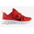 Nike Free 5.0 Klett rot Laufschuhe Kinder (Größe 33)