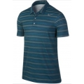 Nike Polo Rally Sphere Stripe blau 2014 Herren (Größe L)