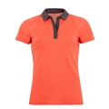 Nike Polo Sphere orange Damen