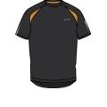 Asics L2 T-Shirt Constructed Herren (Größe S+M)