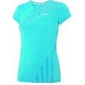 Asics Lauf-Shirt L2 Overall jewelblau Damen