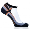 Rohner Laufsocke R-Power weiss/orange Herren