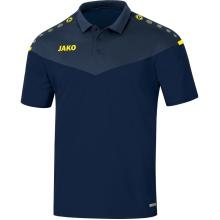 JAKO Polo Champ 2.0 marine/blau/gelb Herren