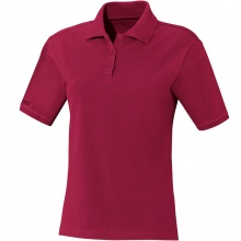 JAKO Polo Team bordeaux Damen