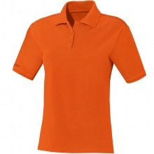 JAKO Polo Team orange Damen