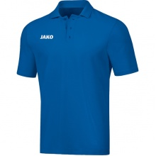 JAKO Polo Base (100% Baumwolle) blau Herren