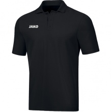 JAKO Polo Base (100% Baumwolle) schwarz Herren