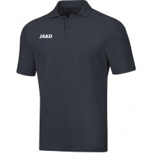 JAKO Polo Base (100% Baumwolle) anthrazit Herren