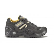 Lowa Simon GTX Lo anthrazit/orange Outdoorschuhe Kinder