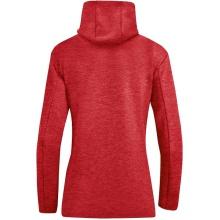 JAKO Kapuzenjacke Premium Basics rot Damen