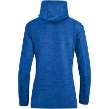 JAKO Kapuzenjacke Premium Basics blau Damen