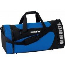 Erima Sporttasche Club 5 (Größe L) blau/schwarz