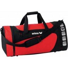 Erima Sporttasche Club 5 (Größe L) rot/schwarz
