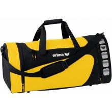 Erima Sporttasche Club 5 (Größe L) gelb/schwarz