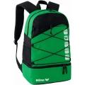 Erima Rucksack Club 5 (mit Bodelfach) grün/schwarz