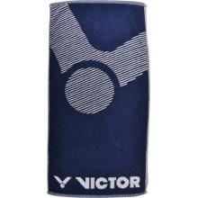 Victor Handtuch navy 100x50cm