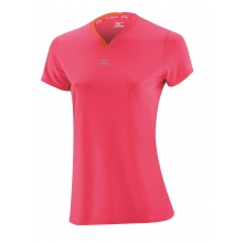 Mizuno Shirt DryLite V-Neck rose Damen