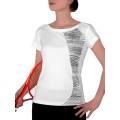 Head Shirt R-Neck 2010 weiss/schwarz Damen