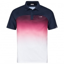 Head Polo Performance 2019 dunkelblau/magenta Herren