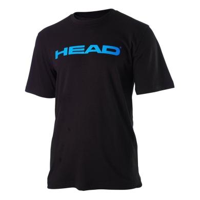 Head Tshirt Ivan schwarz/blau Herren