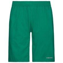 Head Tennishose Bermuda Club 2021 kurz grün Herren