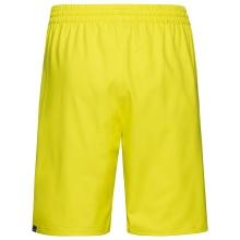 Head Tennishose Bermuda Club 2021 kurz gelb Herren
