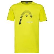 Head Tshirt Club Carl 2021 gelb Herren