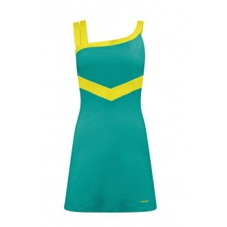 Head Kleid Rapid 2014 teal Damen