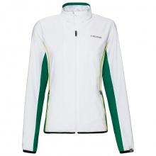 Head Tennisjacke Club 2021 weiss/grün Damen