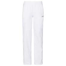 Head Tennishose Pant Club 2021 lang weiss Damen