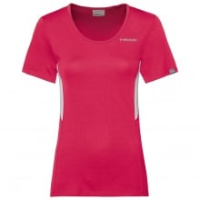Head Shirt Club Technical 2019 magenta Damen