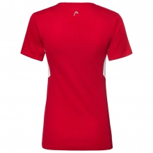 Head Shirt Club Technical 2019 rot Damen