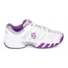 KSwiss BigShot Light weiss/purple Tennisschuhe Girls