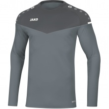 JAKO Langarmshirt Sweat Champ 2.0 grau Boys/Girls
